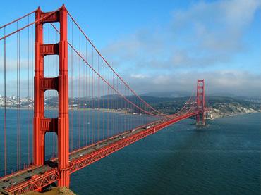 Podul Golden Gate din San Francisco este vopsit cu Noxyde