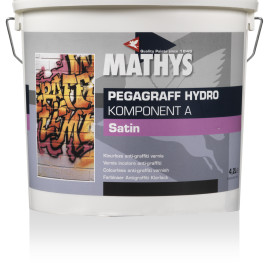PEGAGRAFF® HYDRO Lac incolor anti-graffiti